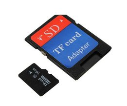 16 Go Micro Carte SD Avec Adaptateur