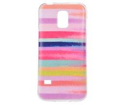 Cas De Zebra Pour Samsung S5 Mini