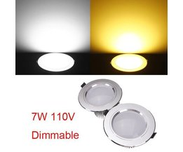 Dimmable LED Downlight Avec 7W Driver