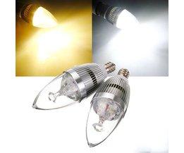 E12 LED Bougie Lampe En Deux Couleurs