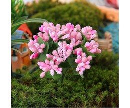 Micro Art Fleur En Deux Couleurs