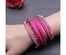 Bracelets En Strass Avec Fermeture Magnétique