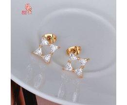 Boucles D'Oreilles Kuniu Étoile