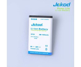 Jekod 1800MAhVervangende Batterie Pour Motorola XT882 / MT870