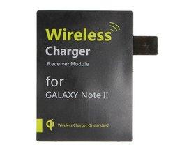 Récepteur Chargeur Sans Fil Galaxy Note II N7100