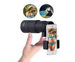 Télescope Monoculaire Téléphone Mobile Stand BAK-4 | MYXLshop