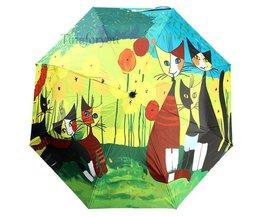 Parapluies Avec Conceptions De Chats