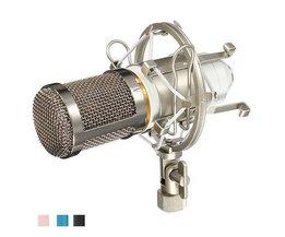 Microphone À Condensateur BM800 Y Compris Le Choc Mont