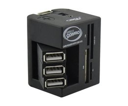 Multifonction Splitter USB Et Lecteur De Carte