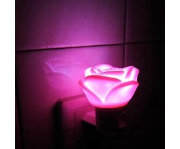 Bébé Rose LED Veilleuse