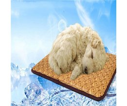 Brown Refroidissement Hondenmat 40 X 40 Cm