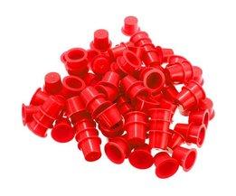 Pots En Plastique Jetables De Tatouage De 100Pieces