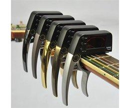 Capo Tuner En Trois Couleurs Pour Guitare & Etc