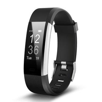 Hembeer H115HR PLUS GPS Smart Bracelet Moniteur de Fréquence Cardiaque Fitness Tracker Step Counter Activité Bande Alarme Horloge pk fitbits