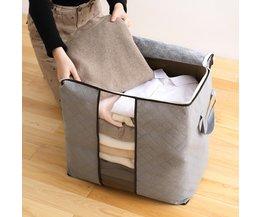La Maison De Stockage Pliable Sac Imperméable Oxford Tissu Literie Vêtements Oreillers Couette Organisateur Sac Pochette Zip-M ~ XL