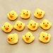 Jouets de bain 10 PC presser appel canard en caoutchouc Ducky Duckie bébé douched'anniversaire pour enfants bébé #40