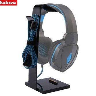 Universel Multifonctionnel Casque Acrylique Casque Écouteur Support à Affichage pour Casque support Noir pour tablet