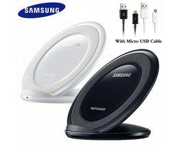 Chargeur sans fil d'origine Samsung Qi chargeur pliable Standard pour Galaxy S7 Edge S8 S9 S10 Plus S10e Note 8 9 Iphone 8 X XR