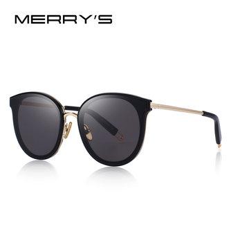 MERRYSfemmes classiquelunettes de soleil yeux de chat 100% Protection UV S6311