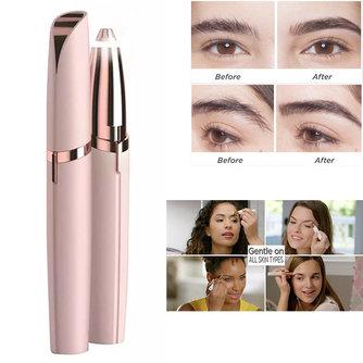 1pc électrique rasoir de sourcils maquillage indolore yeux sourcils épilateur pour femmes Mini rasoir rasoirs Portable Facial épilateur femme