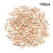 bon marché 100 pièces 2.5 cm Mini vêtements en bois naturel broche Photo papier pince à linge bricolage artisanat