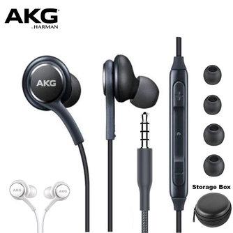 AKG écouteurs IG955 3.5mm intra-auriculaires avec micro fil casque pour samsung Galaxy S8 S9 pour huawei xiaomi écouteur