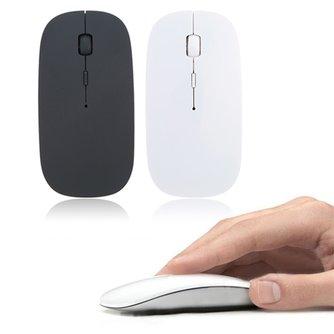 1600 DPI USB optique sans fil souris d'ordinateur 2.4G récepteur Super mince souris pour ordinateur portable PC