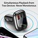 Baseus FM modulateur transmetteur Bluetooth 5.0 Kit mains libres voiture Audio lecteur MP3 avec PPS QC3.0 QC4.0 5A chargeur automatique de voiture rapide