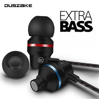 DUSZAKE écouteurs intra-auriculaires pour Xiaomi écouteur pour téléphone stéréo basse casque métal filaire écouteur HiFi casque micro pour Samsung
