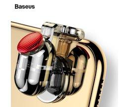Baseus manette de jeu pour PUBG Joypad déclencheur bouton de tir objectif L1 R1 clé L1R1 contrôleur de tir pour PUBG téléphone portable jeu Pad