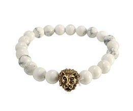Man Bracelet Avec Lion