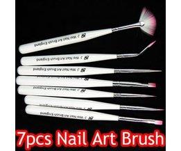 Nail Brush Set 7 Pièces