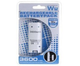 3600mAh Batterie Rechargeable pour la Manette Nintendo Wii
