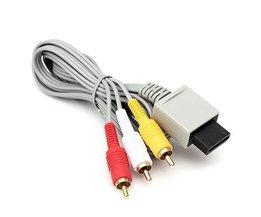 Câble AV Pour Nintendo Wii