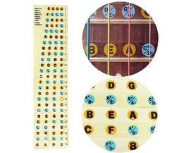 Inlay Stickers Pour Guitares Basses