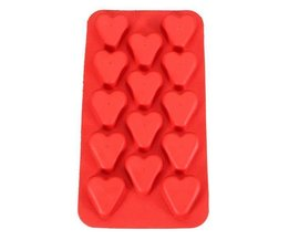 Silicone Ice Cube Tray Avec Des Coeurs