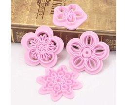 Cookie Cutter Flower 4 Pièces