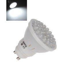 GU10 LED Spotje Avec Froide Lumière Blanche