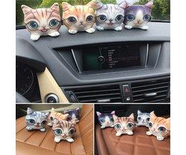 Cat Pour La Décoration Dans La Voiture