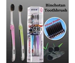 Binchotan-Brosses À Dents (2 Pièces)