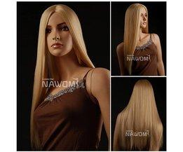 Perruque Blonde Synthétique