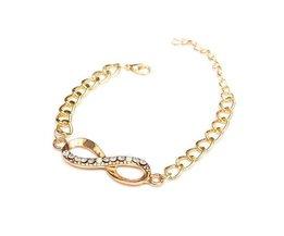 Bracelet Avec Infinity Sign