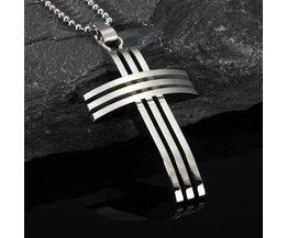 Collier Avec Croix Pour Les Hommes