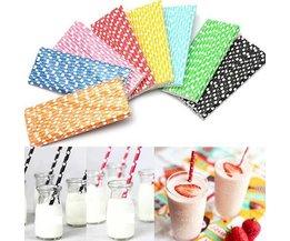 Straws De Papier (25 Pieces)