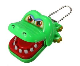 Crocodile Toy With Teeth