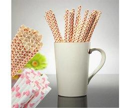 Papier Straws 25 Pièces