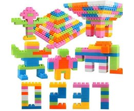 Plastic Building Blocks For Children 96 Pieces