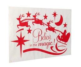Stickers De Fenêtre Pour Noël