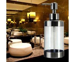 Luxe Anticorrosion Transparent Distributeur De Savon