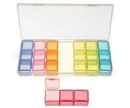 Pillbox Semaine (21 Cases pour 7 jours)